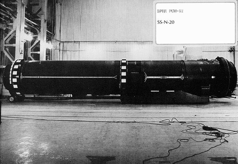R 39 Ss N 20 Sturgeon Slbm Russian Soviet Nuclear Forces