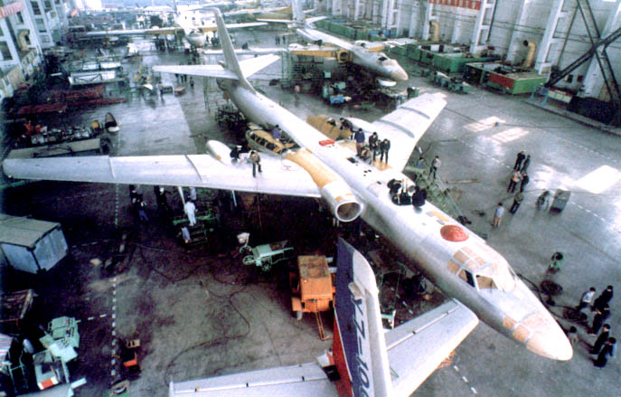 H 6 Tu 16 Badger Tupolev Chinese Nuclear Forces