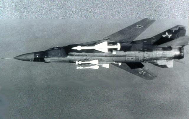Легендарные самолеты №21 Миг-23 - фото модели, обсуждение