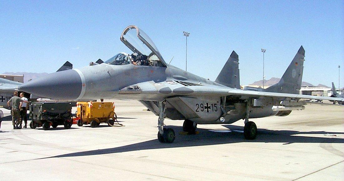 Mikoyan-Gurevich MiG-29 Fulcrum - CombatAircraft.com
