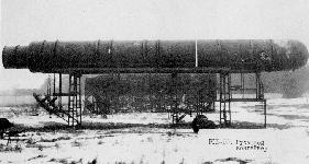 SS20 Raketen, wie sie sich auch auf dem Bombodrom befanden