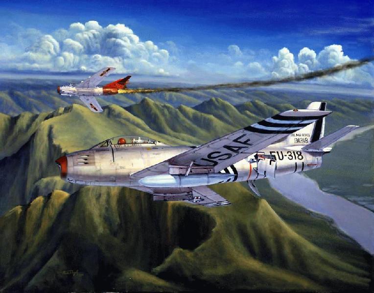 North American F86 Sabre  Wikipedia