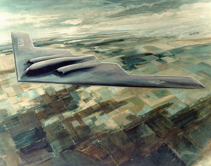 المقنبلة الاستراتيجية B-2 Spirit B-2_02