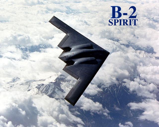 المقنبلة الاستراتيجية B-2 Spirit B2bankm