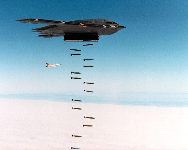 المقنبلة الاستراتيجية B-2 Spirit B2bomf