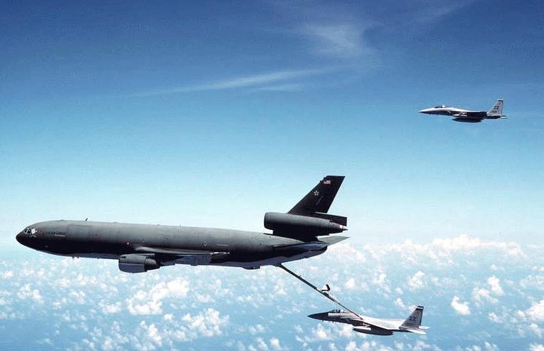 空军世界 :: 美国空军KC-10大型加油机大型飞机