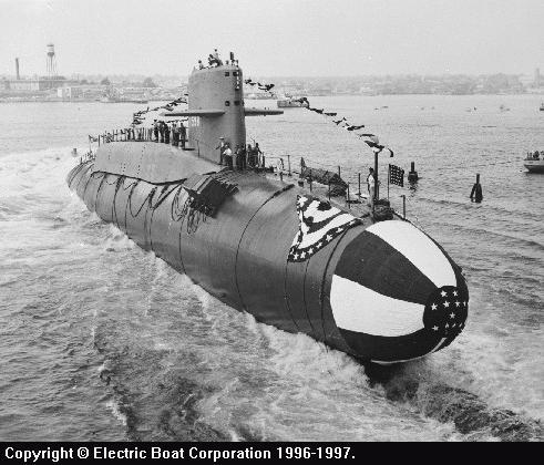 Ssbn 598 George Washington Class Fleet Ballistic Missile