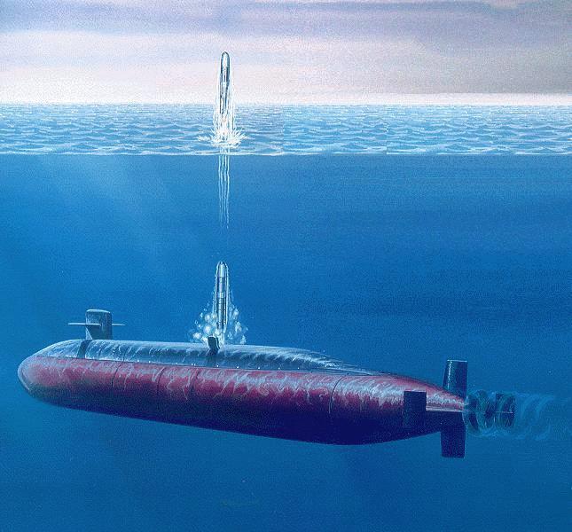 SSBN-726 Ohio-Class Fleet Ballistic Missile Submarine SSBN